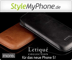 More Thing Letique Collection für iPhone 5