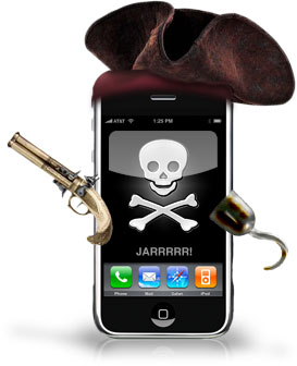 iPhone Jailbreak Pirate