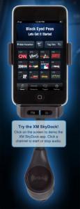 XM Skydock für iPhone und iPod Touch