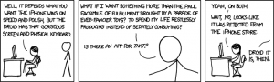 xkcd: iPhone or Droid