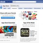 Apple'S AppStore facebook-Seite