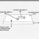 Apple-Patent: Retardation Film Beschichtung der Displays