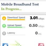 FCC iPhone App: Mobile Broadband Test