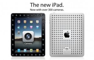 Das neue iPad mit über 300 Kameras