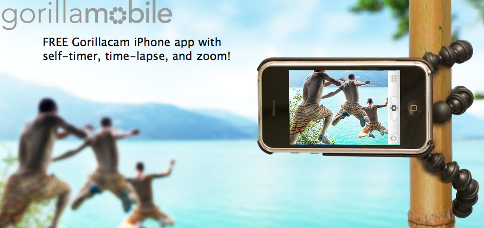 GorillaMobile iPhone-Stativ von Joby
