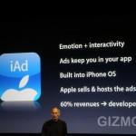 Steve Jobs stellt Apple iAds vor
