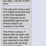 iPad 3G: Musclenerd verschickt erstmals SMS