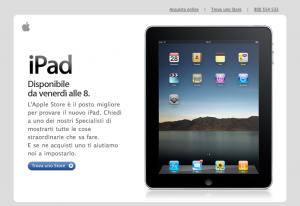 Apple Stores in Italien öffnen zum iPad-Start schon um 8 Uhr