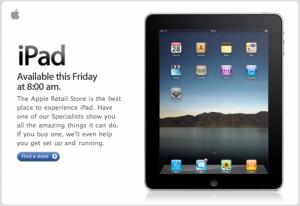 Apple Stores in England öffnen zum iPad-Start schon um 8 Uhr