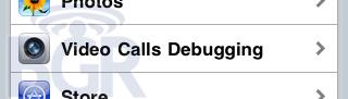 "iPhone 4G: Testsoftware mit ""Video Calls Debugging"""