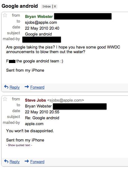 """Steve Jobs zur WWDC: """"Ihr werdet nicht enttäuscht sein!"""""""