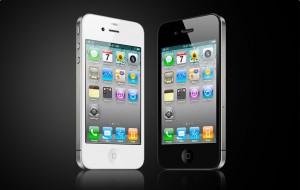 iPhone 4 - Weiß und Schwarz