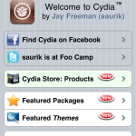 iPhone 4 Jailbreak: Cydia Screenshot