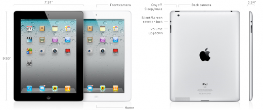 Apple iPad 2 - Features und Spezifikationen