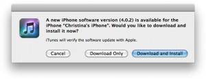 iOs 4.0.2 Sicherheitsupdate
