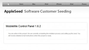 MobileMe Control Panel 1.6.2: Beta-Test in Kürze?