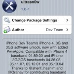 Ultrasn0w 1.0-1: iPhone 4 Unlock