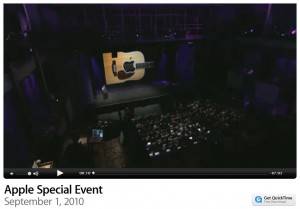 Das Apple Special Event als Webstream
