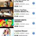 iOS 4.2: Youtube-App mit Bewertungen