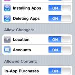 iOS 4.2: Neue Sicherheitseinstellungen