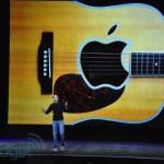 Steve Jobs bei der Keynote des iPod Events, 2010