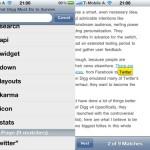 iOS 4.2: Neue Suchmöglichkeit im mobilen Safari