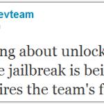 Chronic Dev Team: Wir arbeiten noch nicht am Unlock für iPhone 3G/3GS