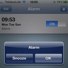 iOS 4.1 Bug im Wecker bei automatischer Zeitumstellung