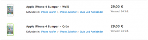 iPhone 4 Bumper wieder verfügbar