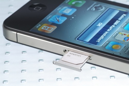 Iphone 4s Sim Karte.Iphone 5 Mit Vorinstallierter Custom Sim Card Iphone News Die