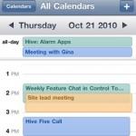 Vollständige Synchronisation des iPhone Kalenders inkl. Farben