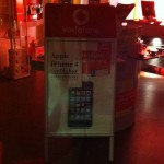 Erste iPhone 4 Werbung von Vodafone