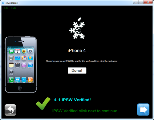 Sn0wbreeze: Jailbreak für iPhone 4 mit iOS 4.1