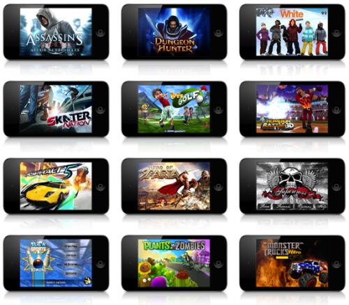 Der iPod Touch als Spielekonsole