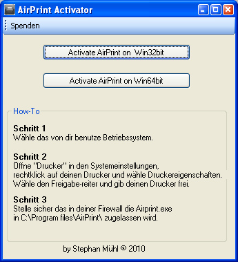 how to set up airprint on iphone airprint windows activator archive bo9 s 20313