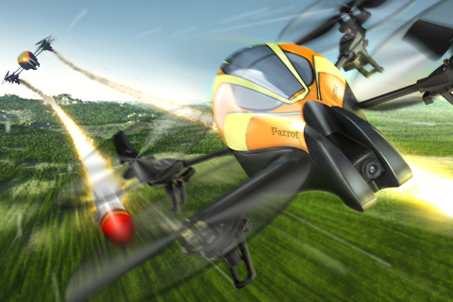 AR.Pursuit: Erstes AR.Drone Augmented-Reality Spiel