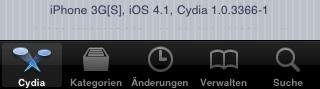 Neue Cydia-version auch in älterer iOS-Version installieren