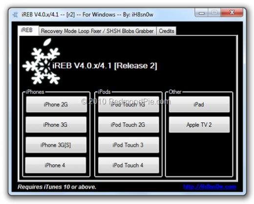 iREB hilft bei iTunes-Fehlermeldung 1600 und Co.