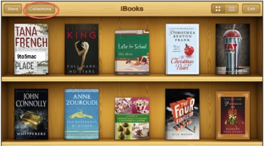 """iBooks: Neue """"Collections""""-Funktionen?"""