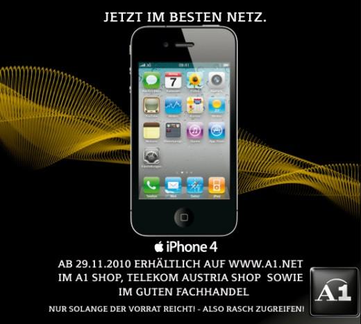 iPhone 4 jetzt auch bei A1