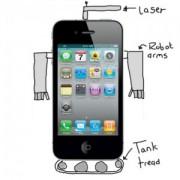 Bekommt das iPhone 5 Roboter-Arme und einen Laser?