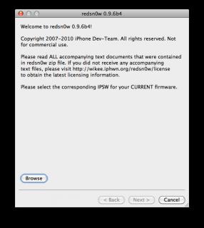 redsn0w 0.9.6b4 bringt den Jailbreak für iOS 4.2(.1)
