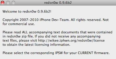 redsnow 0.9.6b2