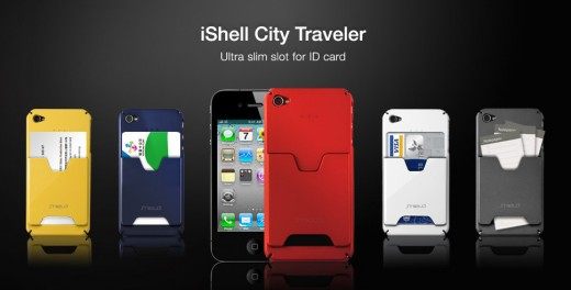 Shield iShell City Traveler für iPhone 4