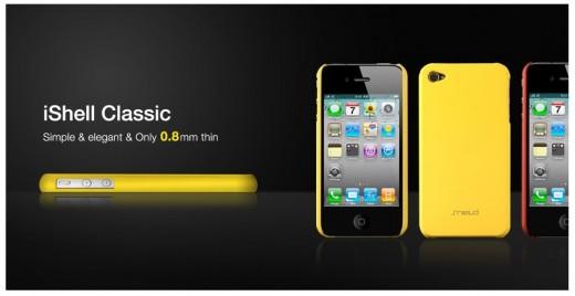 Shield iShell Classic: Ultradünne Hülle für iPhone 4