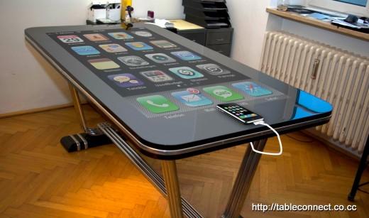 Table.Connect: Riesiger iPhone-Tisch aus Österreich