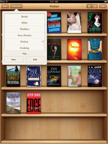 """iBooks jetzt mit benutzerdefinierten """"Sammlungen"""""""