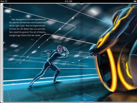 iBooks: Tron illustriert