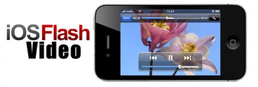 iOSFlashVideo bringt Flash-Videos einiger beliebter Seiten aufs iPhone