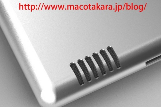iPad 2: Mockup des neuen Lautsprechers